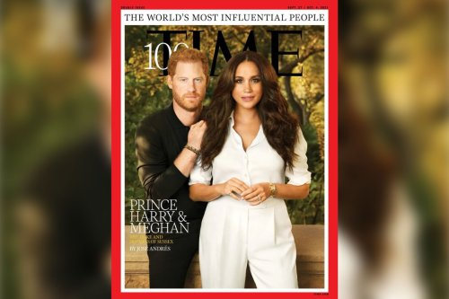 Prince Harry and Meghan Markle's 'airbrushed' Time 100 cover gets roasted