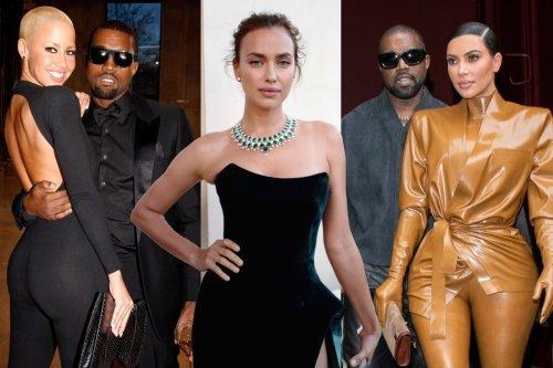 Kanye West's ex-girlfriends and dating history: Kim Kardashian to Irina Shayk
