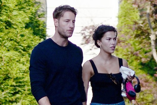 Justin Hartley and new wife Sofia Pernas leave set and more star snaps