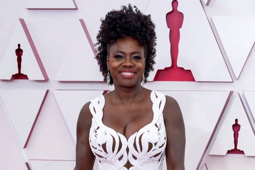 Viola Davis dazzles in white on Oscars 2021 red carpet
