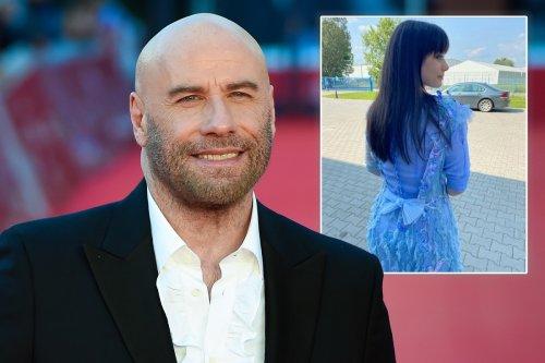 John Travolta shares photo of daughter Ella in costume for 'Get Lost'