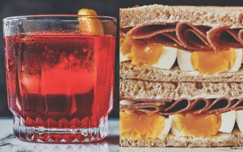Enjoy an Italian-Style Happy Hour With André Darlington's Negroni and Aperitivo Spread