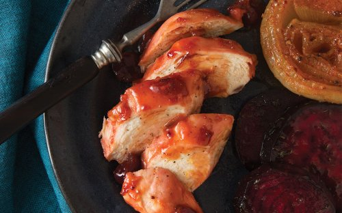This 4-Ingredient Chicken Dinner Is the Perfect Way to Welcome Fall
