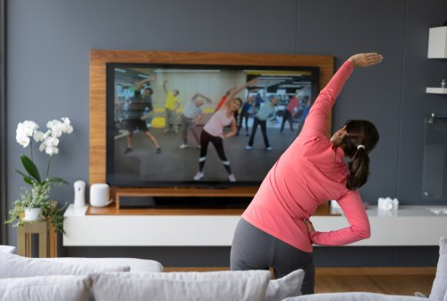 Want To Get A Full Body Workout At Home? Here Are 75 Actually Fun Ideas for Making It Happen
