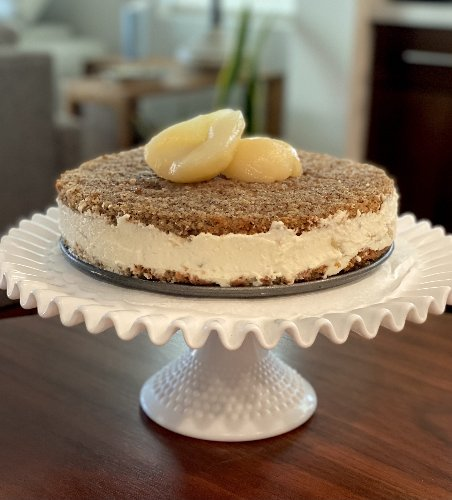 Cooking the Episode: Hazelnut Pear Cake From Stanley Tucci: Searching for Italy
