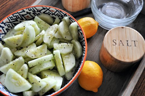 Lemon-Marinated Cucumbers Are The Spring Side Dish to Wake Up Your Tired Taste Buds