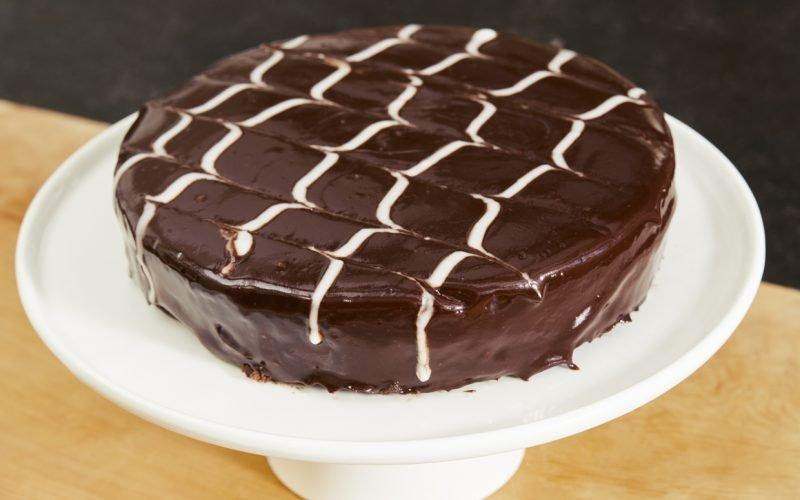 Ina Garten's Chocolate Chevron Cake is Decadent Dessert Goals