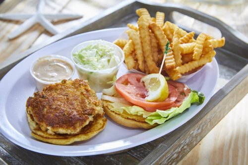 You'll Never Want Crab Cakes Another Way After One Bite of Grandma's Crab Cake Sandwich