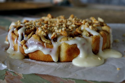 Cinnamon Rolls with Salted Caramel Nuts Will Make Everything Better in Life