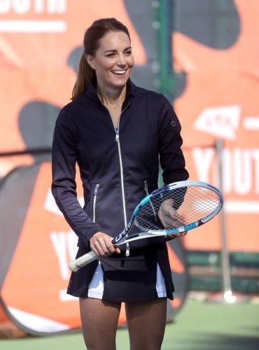 Duchess Kate Played Tennis With US Open Champion Emma Raducanu