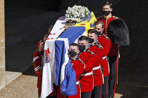 What the Flag on Prince Philip's Casket at the Duke of Edinburgh's Funeral Means