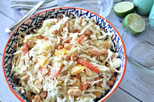 Add A Tropical Twist To Your Summer Cookout With Mango Coleslaw