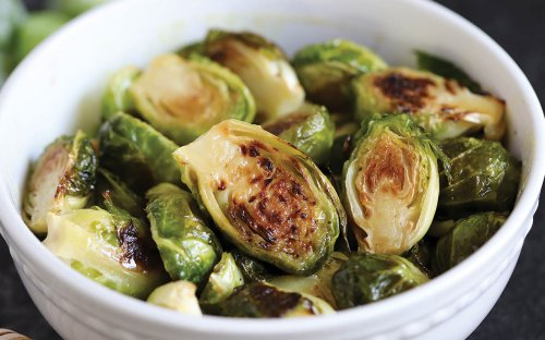 Honey-Dijon Brussels Sprouts Are a Healthy, Holiday-Worthy Side Dish