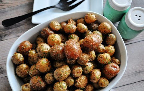 Montreal Steak Seasoned Roasted Baby Potatoes Will Change the Way You Make Spuds