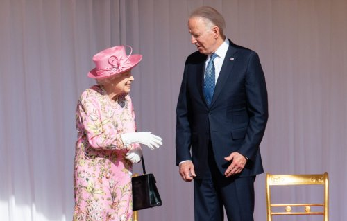 The Bidens Had Afternoon Tea With the Queen at Windsor Castle! President Biden Said 'She Reminded Me Of My Mother'