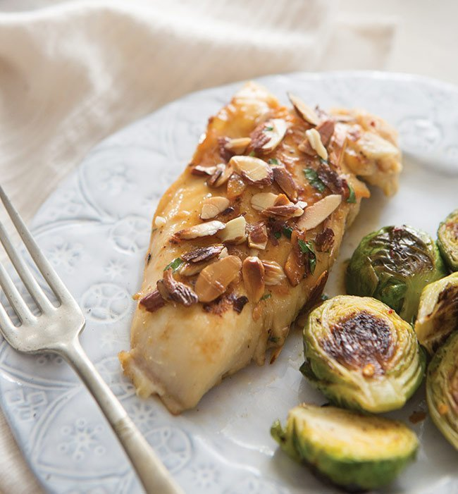 Almond Lemon Chicken Is A Tasty Way to Shake Up Dinner