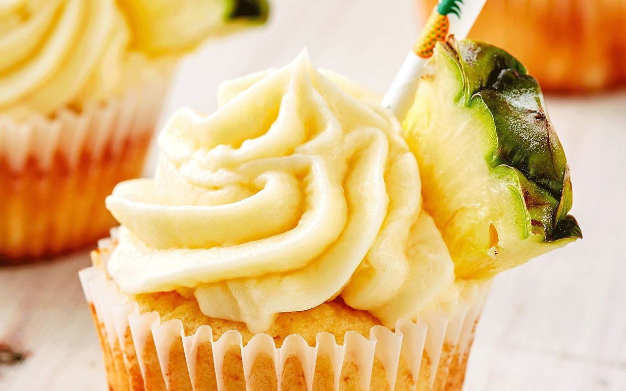 These Dole Whip Cupcakes Almost Make Up for Disneyland Plans Being Canceled