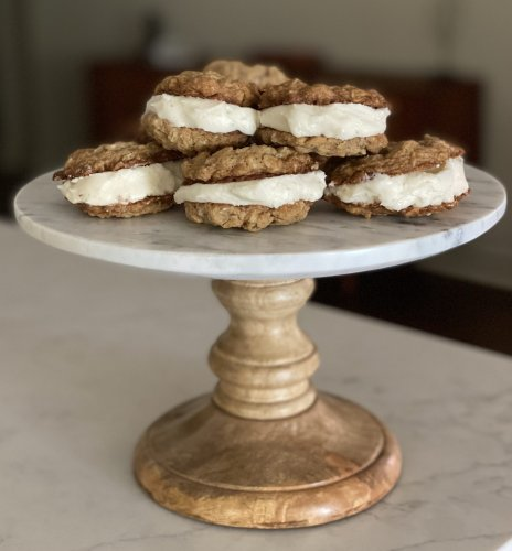 Cooking the Episode: How to Make Oatmeal Cream Pie Cookies From Magnolia Table with Jaonna Gaines