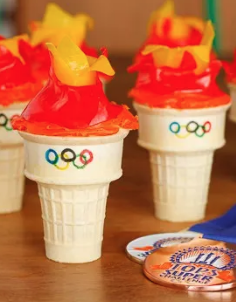 From Olympic Rings Fruit Pizza to Torch Ice Cream Cones, These 30 Olympic Recipes Are Pure Gold