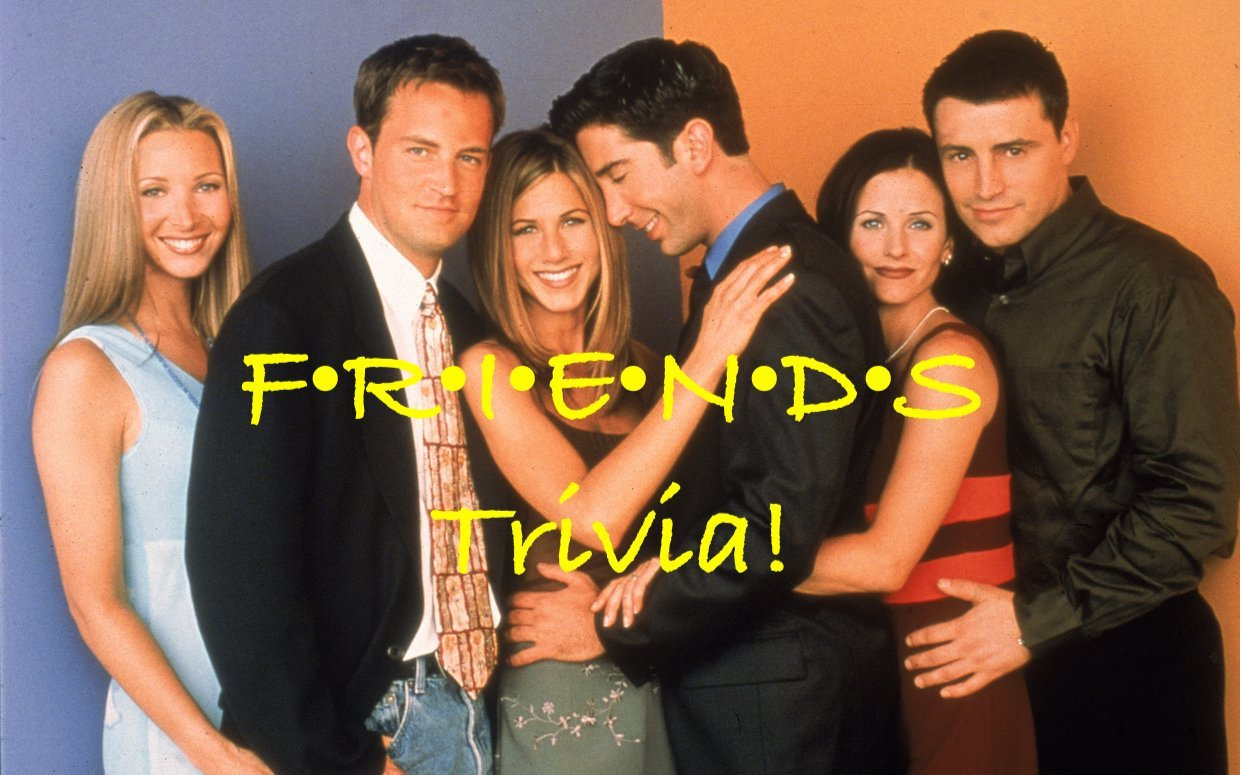 The One With the Trivia! 150 Friends Questions and Answers for Hours of Entertainment