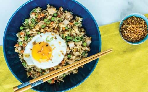 Chef Jon Ashton's Turkey Fried Rice Will Make You Wish for Thanksgiving Leftovers