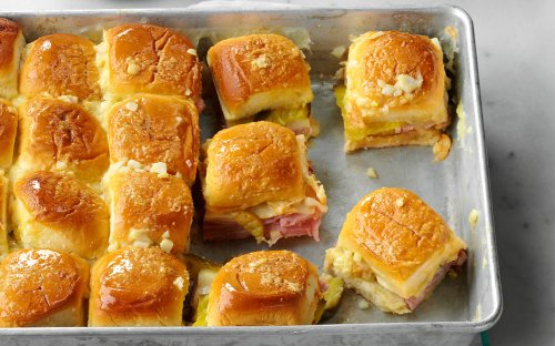 These Crowd-Pleasing Cuban Sandwich Sliders Are Guaranteed To Be A Game Day Hit