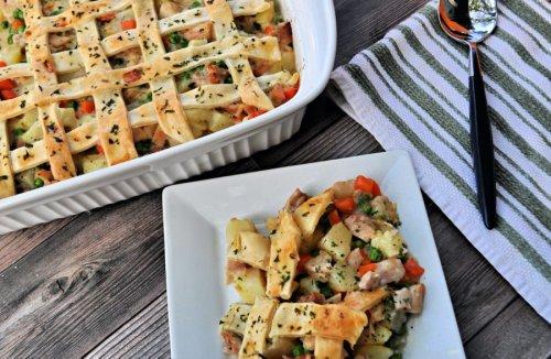 Enjoy a New Tasty Twist on a Classic With Chicken Pot Pie Casserole