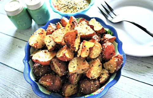 Everything Roasted Potatoes Only Have 3 Ingredients but a Huge Flavor Pay-Off