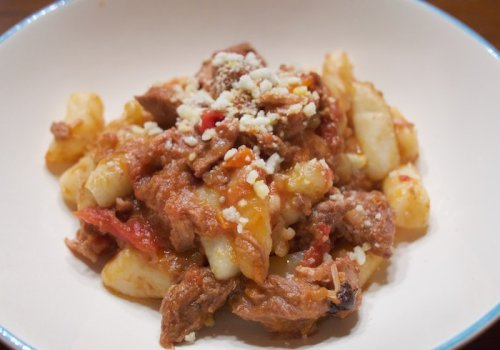 Cooking the Episode: Wild Boar Ragu From Bobby and Giada in Italy