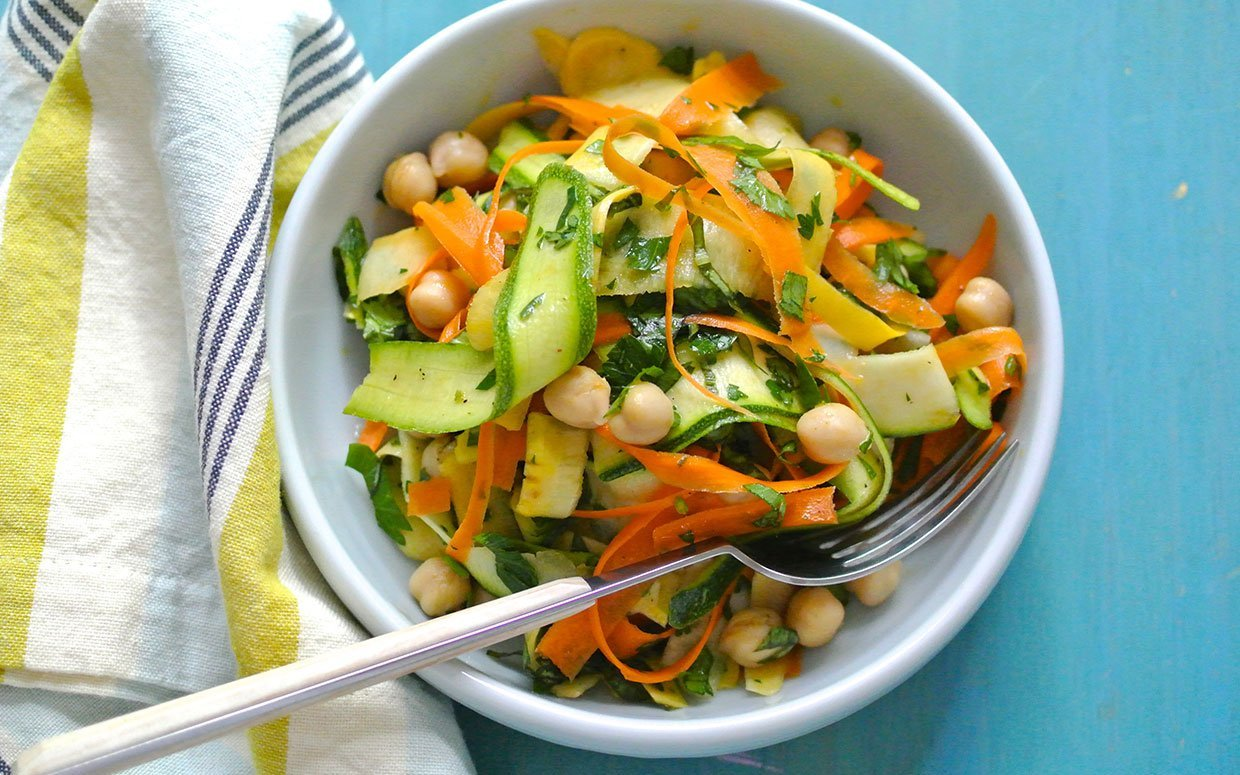 This Pretty Shaved Salad Will Help You Beat Salad Boredom