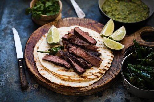 We'll Be Eating Grilled Tequila-Marinated Lime Steak Tacos on National Tequila Day FYI