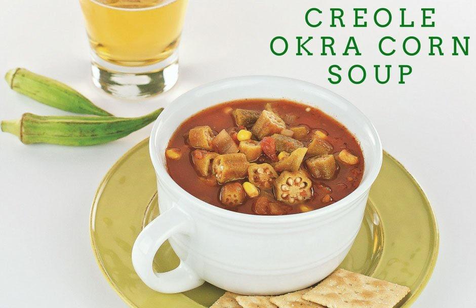 Slow Cooker or Stove-Top Creole Okra Corn Soup Recipe