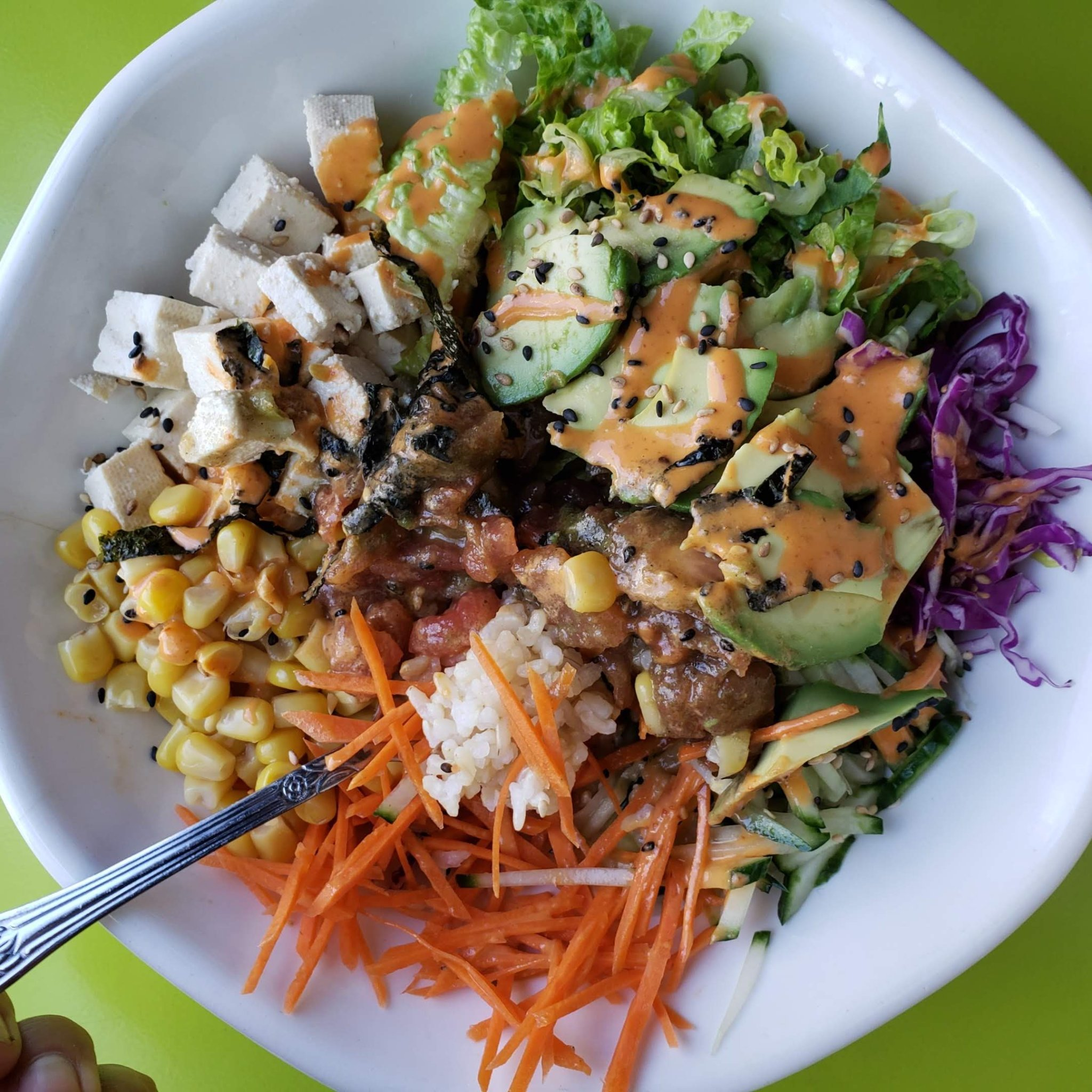 10-Minute Challenge: Cheap Lazy Vegan's Easy Vegan Sushi Bowl