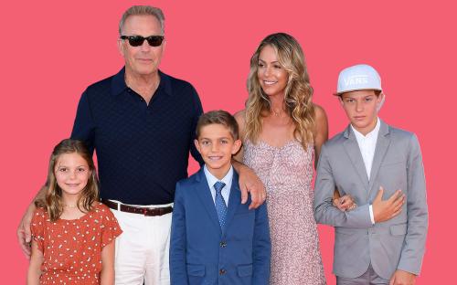 Meet Kevin Costner's Family