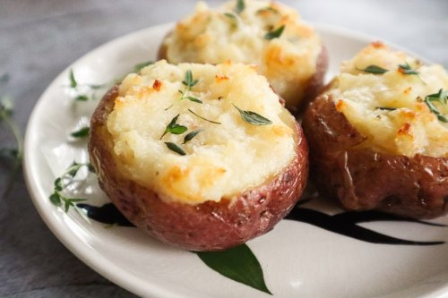 Cheesy Twice Baked New Potatoes Are the Side Dish That Keeps on Giving