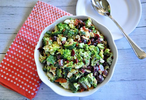Broccoli and Grape Salad Is The Summer Side Filled With Crunch And Sweetness