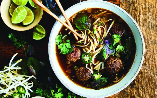 Vietnamese 'Meatball' Pho Is Plant-Based Perfection For Meatless Monday