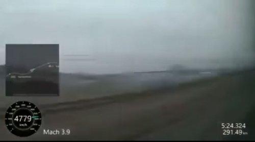 Il video di un treno, in Giappone a 4800 Km/h
