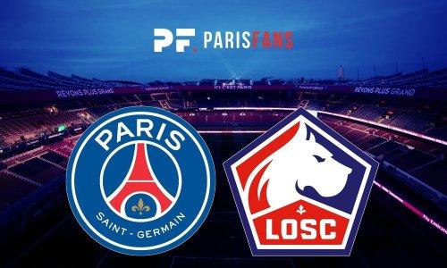PSG/Lille – Chaîne et heure de diffusion