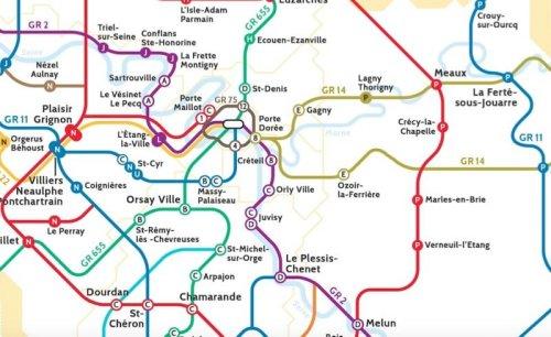 Le Randopolitain, la carte qui dévoile les sentiers de randonnées en Ile-de-France