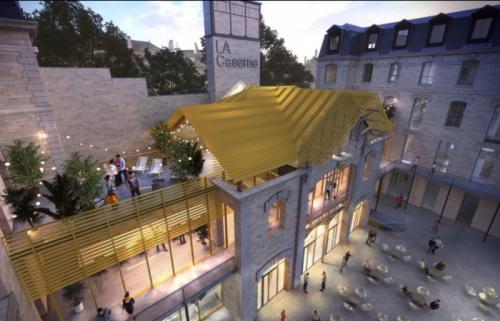 L'ancienne caserne de pompiers Château-Landon se mue en boîte de nuit