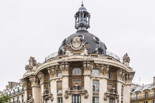 Les somptueux immeubles Félix Potin dans Paris