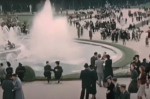Une incroyable vidéo nous plonge dans le Paris de 1930 !