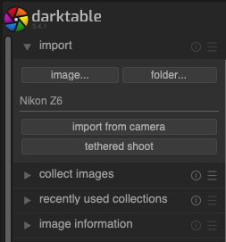Getting Started With Darktable Part 2 {Importing}