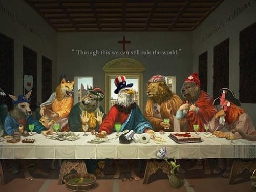 China takes a vicious swipe at G7 leaders with an eerie cartoon warning of the West's 'last supper' - after Australia's PM received rousing support for a new Covid origin inquiry - News Break