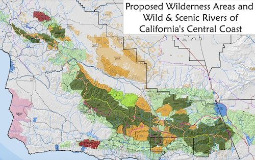 Los Padres wilderness and rivers bill introduced in Senate