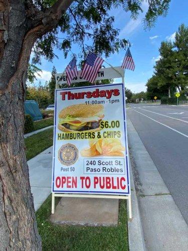 'Hamburger Thursdays' return to the Vet's Hall