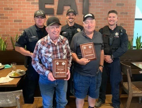 Volunteers honored by Paso Robles Police Department - Paso Robles Daily News
