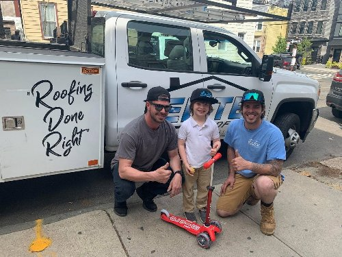 'There Are Good Guys Too!' Roofers Save Day For Jersey City Boy