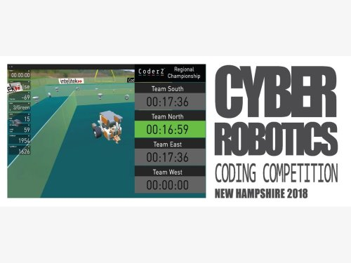 44 Teams Attending Cyber Robotics Coding Competition Finals